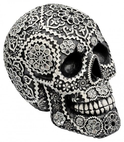 Black Decorative Skull