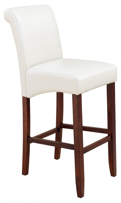 Erica Scroll Back Bar Stool - Dark Legs