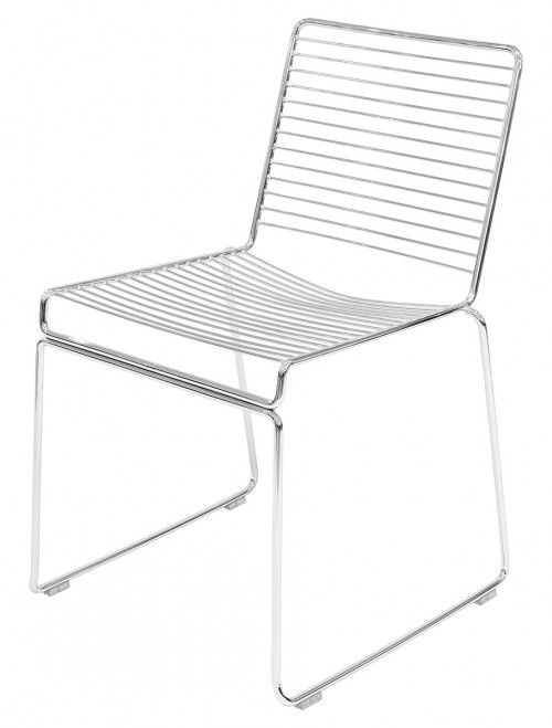 Metal Frame Stacking Chair