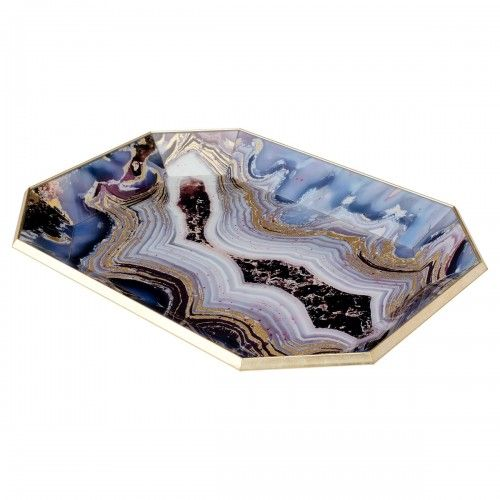 Octagon Serving Tray-Oyster