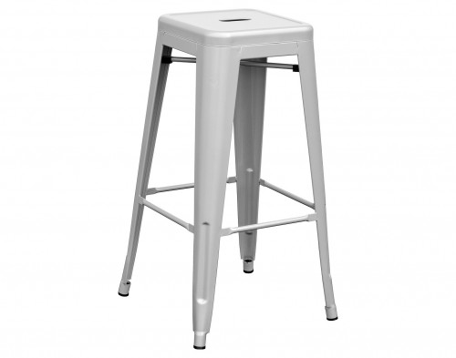 Tolix Metal Bar Stool- High Gloss
